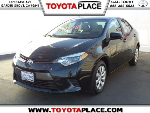 Used Vehicle Specials and Sales Garden Grove Toyota Place