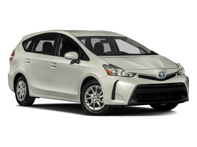 New 2017 Toyota Prius v Two Front Wheel Drive 4H