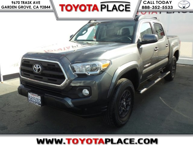 Pre Owned 2017 Toyota Tacoma SR5 4D Double Cab in Garden Grove