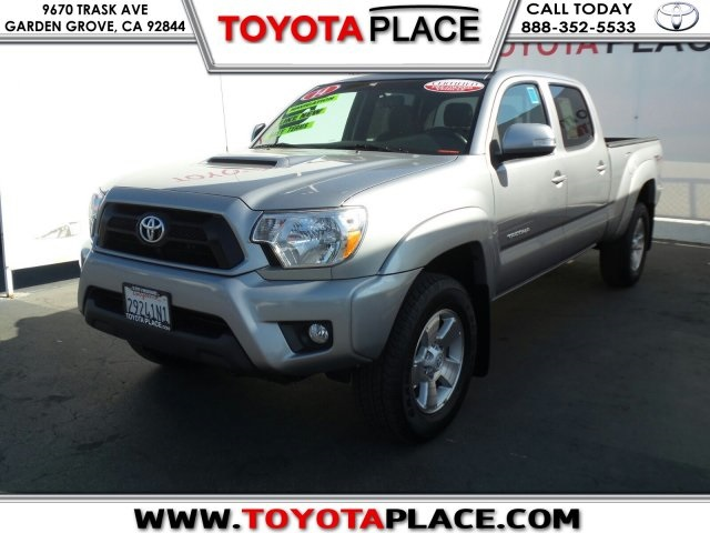 certified pre owned 2014 toyota tacoma base 4d double cab in garden grove t066599 toyota place. Black Bedroom Furniture Sets. Home Design Ideas